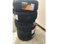 One new 225 40 18 new tyre