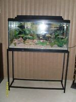 AQUARIUM - 35 GALLON PACKAGE WITH STAND