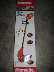 LIKE NEW HOMELITE ELECTRIC WEED TRIMMER
