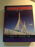 MECHANICS OF MATERIALS, ROY R. CRAIG, JR. 3e ÉDITION