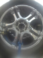 ford rims 22 and 20s with tires very cheap