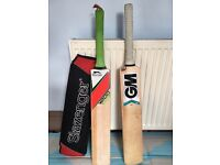 Two brand new English cricket bats as new, quick sale for both at only £55 , Not to be missed