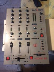 Allen & Heath Xone 32 3 channel mixer