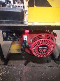 2.8 kW petrol generator (Honda gx200 engine