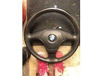 E30 E36 series 3 BMW steering wheel air bag