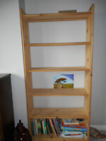 Tall, 6 Shelf Book Case