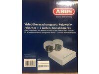 Abus CCTV Camera Kit - New