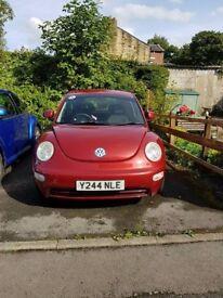 Volkswagen Red Beetle, 2001