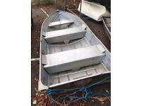 Aluminium/Tin fishing boat