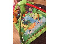 Fisher price rain forest play mat