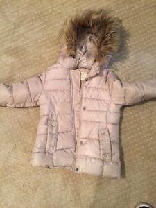 Girls Zara coat size 5/6