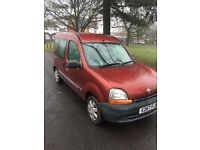 Renault kango 1.2 Wheelchair accessible 52.000 miles from new