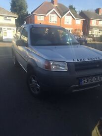 Land Rover freelander 1.8 injection