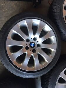 BMW winter tires and rims Kingston Kingston Area image 4