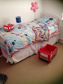 Boys Next bedroom set - single duvet cover and accessories