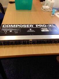 Behringer Composer Pro-XL MDX2600 Compressor/Limiter (2 available)