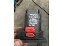 Snap on battery adapter