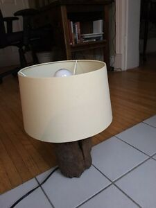 Hand carved wooden desk lamp London Ontario image 6