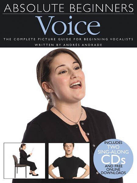 Absolute Beginners Voice Vocal Learn Singing Lessons Music Book CD Pack