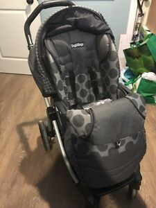 Peg Perego stroller and car seat