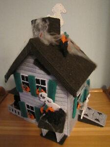 Plastic Canvas Halloween Haunted House Comox / Courtenay / Cumberland Comox Valley Area image 3