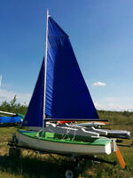 13.5 ft. Sailboat for sale