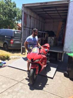 ALL RIGHT REMOVALS AND INTERSTATE MOVERS 75/HR FOR TWO MEN
