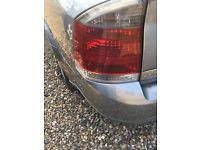 Vectra c smoked back lights