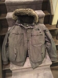 Winter Coat - The North Face (Gray, Large)
