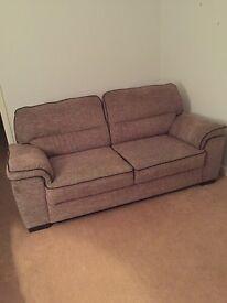Corded 3 seater sofa
