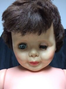 "Vintage 1960's doll Halloween creepy prop 34"" ugly scary London Ontario image 1"