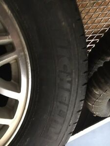 JEEP RIMS AND TIRES / 3 RIMS AND 3 MICHELIN TIRES Peterborough Peterborough Area image 2
