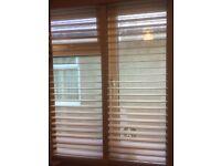 Wooden Venetian blinds whole lot £50