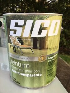 Sico - Wood Stain exterior semi-transparent
