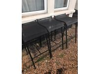 Garden bar stools (could be indoor as well)