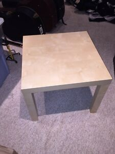 IKEA beige side table