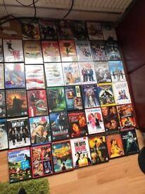 Joblot of CDS or DVDS