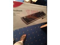 New USB keyboard