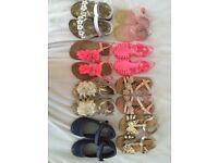 Girls shoe selection