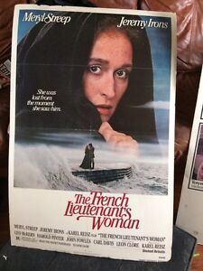 Vintage Movie Poster: The French Lieutenants Woman