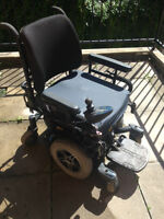 ALMOST NEW ELECTRIC WHEELCHAIR