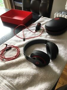 Beats Studio Headphones.
