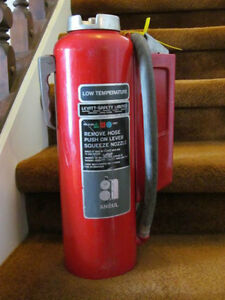 MAKE AN OFFER  ON 2 ANSUL 20 LB FIRE EXTINGUISHERS  $200.00 EACH