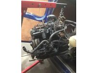 FORD TRANSIT ENGINE 2.2 COMPLETE WITH GEARBOX LOW MILES
