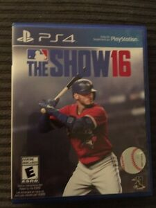 MLB The Show 16 for PS4