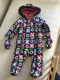 Marks and Spencer's Girls coat Snowsuit 12-18months