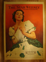 Vintage The Star Weekly Magazine from Apr 9, 1938!
