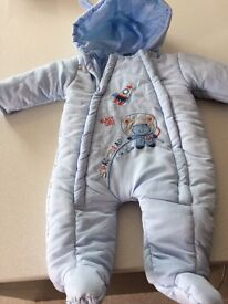 3/6 months Snow suit coat