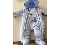 3/6 months Snow suit coat