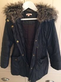 Size 6-7 blue zoo coat